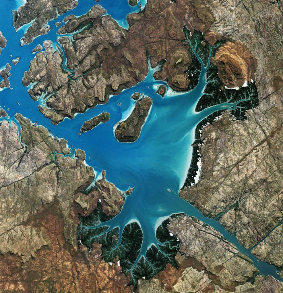 Exposition du Planétarium de Vaulx-en-Velin vues aériennes de la planète