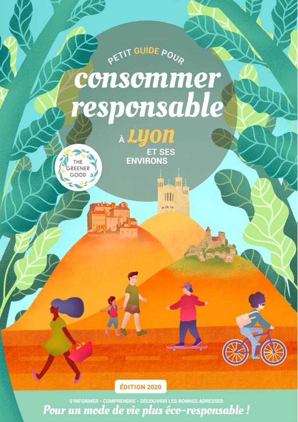 couverture du guide consommer responsable à Lyon et ses environs