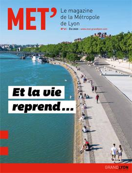 Couverture du magazine MET'#21