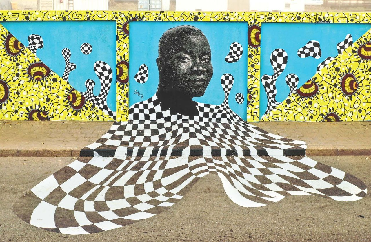 une oeuvre de street-art