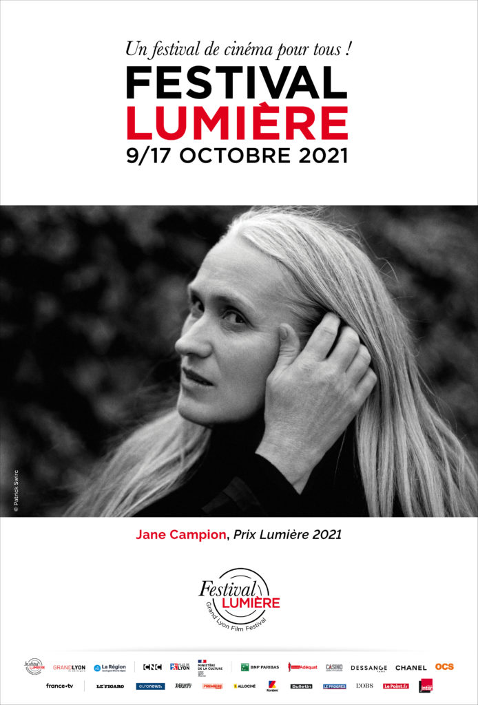 Affiche Jane Campion au festival Lumière